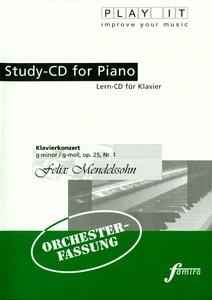 Study-CD Piano - Klavierkonzert,g-moll,op.25,Nr.1
