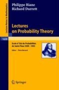 Lectures on Probability Theory