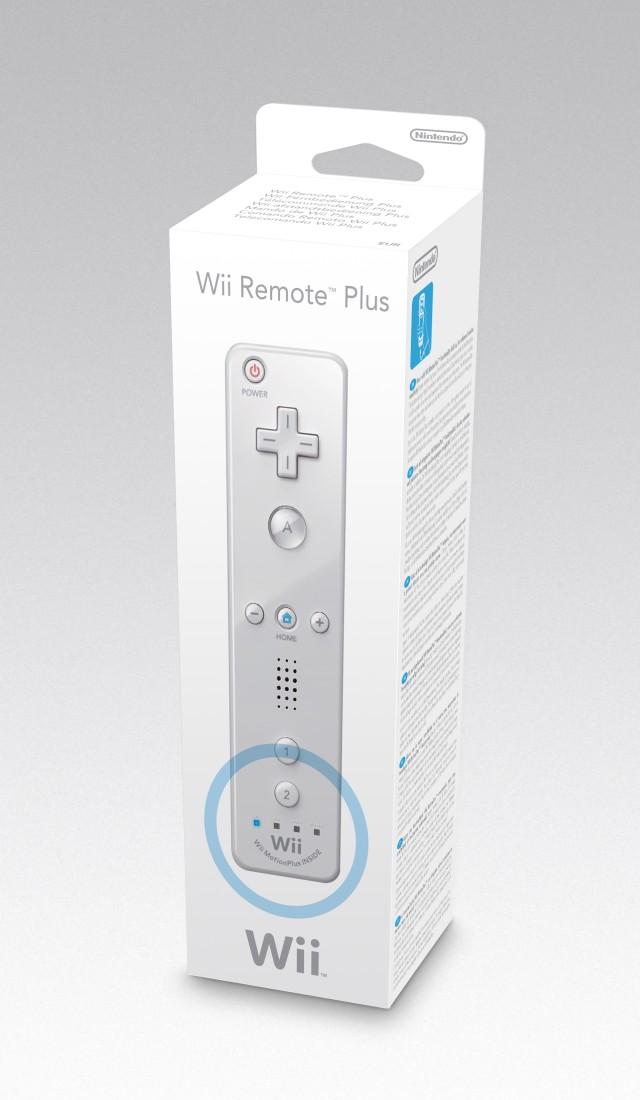 Wii Remote Plus Controller (integrierter Motion Sensor) Weiss - zum Schließen ins Bild klicken