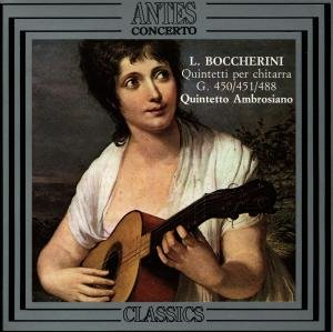 Boccherini:Quintette Für Gitarre