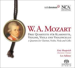 Drei Quartette Für Klarinette & Streichtrio
