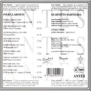 Four Clarinets