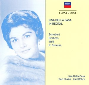 Lisa Della Casa im Konzert
