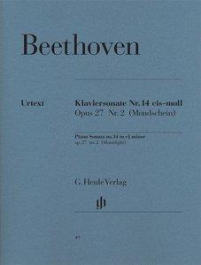 Klaviersonate Nr. 14 cis-moll op. 27,2 [Mondscheinsonate]