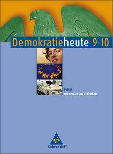 Demokratie heute 9/10. Schülerband. Politik. Realschule. Nieder