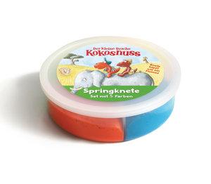 Der kleine Drache Kokosnuss - Springkneten-Set