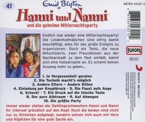 Hanni und Nanni 41 ... und die geheime Mitternachtsparty