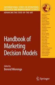 Handbook of Marketing Decision Models