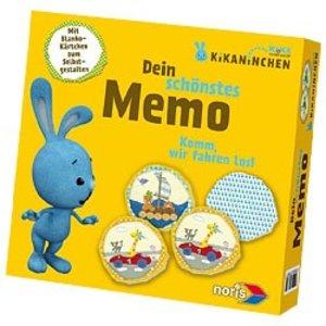 Noris 606017361 - Kikaninchen: Memo