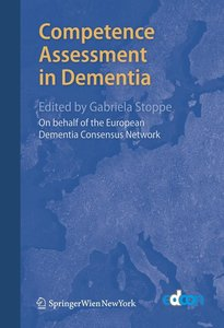 Competence Assessment in Dementia