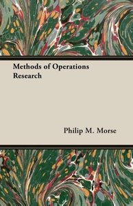 Methods of Operations Research