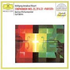 """Sinfonien 25,29,31 """"Pariser"""""""