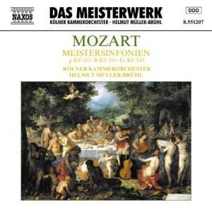 Meistersinfonien KV 183/319/543