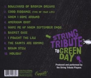 String Tribute To Green Day