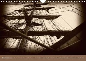 Old Times at Sea / UK Version (Wall Calendar 2015 DIN A4 Landsca