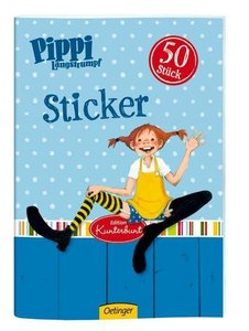 Pippi Langstrumpf Sticker