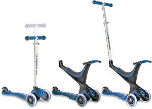 My free kids 5-in-1, 3-Wheels Scooter bi-inject blau-schwarz