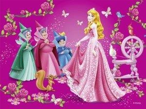 Liebste Disney Prinzessinnen. Würfelpuzzle12 Teile