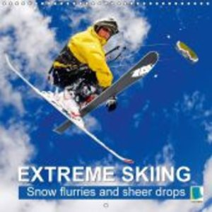 Extreme Skiing: Snow Flurries and Sheer Drops