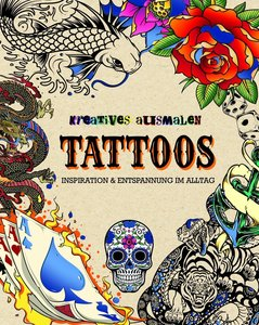 Kreatives ausmalen - Tattoos