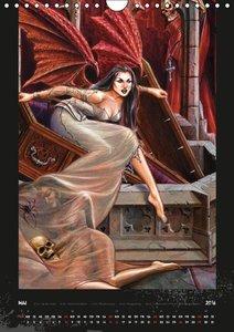 Alchemy Gothic (Wandkalender 2016 DIN A4 hoch)