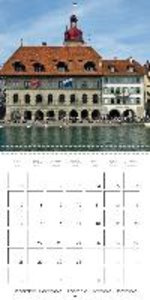 LUCERNE Historic Switzerland (Wall Calendar 2015 300 × 300 mm Sq