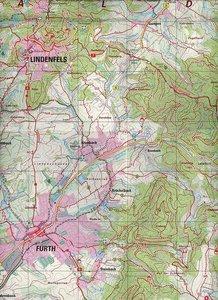 Bergstraße-Odenwald 1 : 20 000. Topographische Freizeitkarte 5