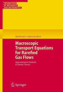 Macroscopic Transport Equation for Rarefied Gas Flows