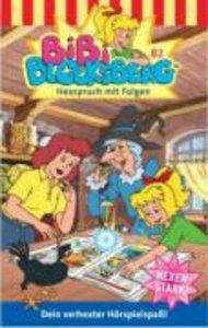 Bibi Blocksberg 082. Hexspruch mit Folgen. Cassette