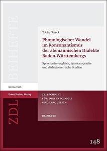 Phonologischer Wandel im Konsonantismus der alemannischen Dialek
