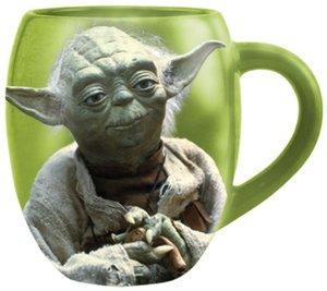 Joy Toy 99068 - Tasse: Yoda, 11 cm