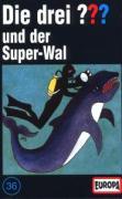 Die drei ??? 036 und der Super-Wal (drei Fragezeichen). Cassette - zum Schließen ins Bild klicken