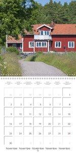 Bienvenue en Suède (Calendrier mural 2015 300 × 300 mm Square)
