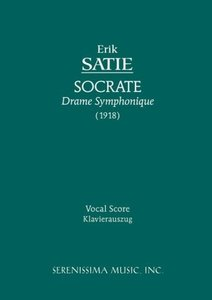 Socrate - Vocal Score