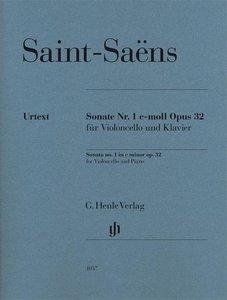 Sonate Nr. 1 c-moll Pous 32 für Violoncello und Klavier