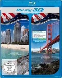 USA-Die Küsten Aus Der Luft (3D-Special Edition)