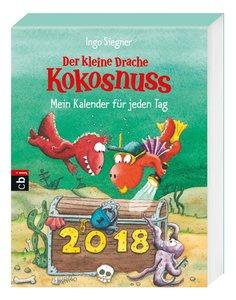 Der kleine Drache Kokosnuss - Mein Kalender für jeden Tag 2018 A