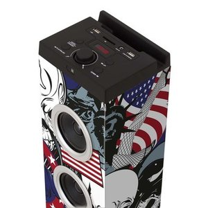 Multimedia Turmlautsprecher, Bluetooth® Sound Tower FREEGUN, bla