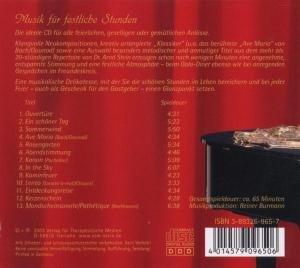 Musik für festliche Stunden. CD
