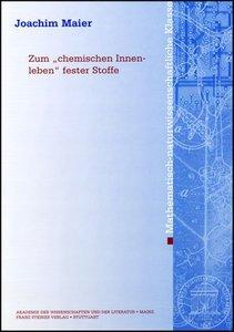 """Zum """"chemischen Innenleben"""" fester Stoffe"""