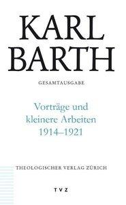 Vorträge und kleinere Arbeiten 1914-1921