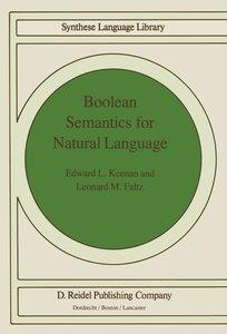 Boolean Semantics for Natural Language
