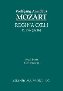 Regina Coeli, K. 276 - Vocal Score
