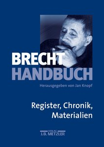 Brecht-Handbuch