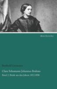 Clara Schumann Johannes Brahms