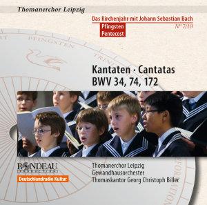 Kantaten zu Pfingsten (BWV 34,74,172)