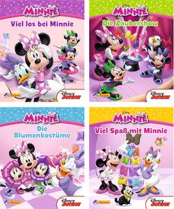 Nelson Mini-Bücher: 4er Disney Minnie Maus 1-4