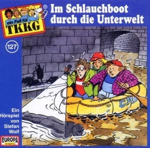 127/Im Schlauchboot durch die Unterwelt