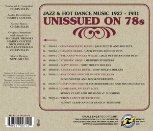 Unissued on 78s Jazz & Hot Dance Music 1927-1931