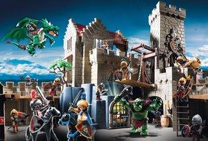 Playmobil: Kampf um den Königsschatz. Puzzle 150 Teile. mit Orig